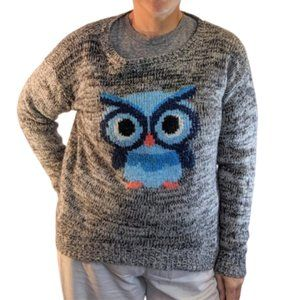 Owl Sweater Oversized & COMFY!